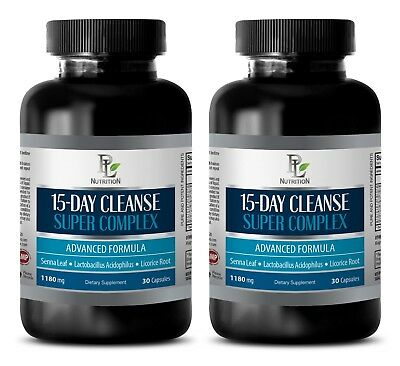 weight loss pills  - 15 DAYS CLEANSE 2B - senna leaf capsules