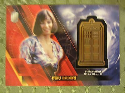 2016 Topps Doctor Who Peri Medallion 035/150