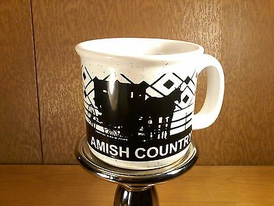 Amish country large soup mug , horse and buggy