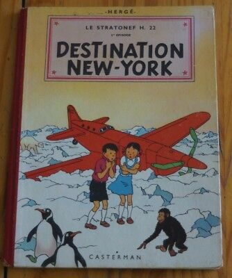 """herge"" Destination New York Edition 1951"