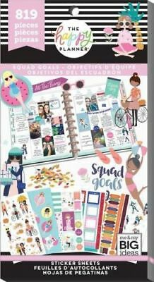 SQUAD GOALS edition Create 365 The Happy Planner MAMBI 819 stickers