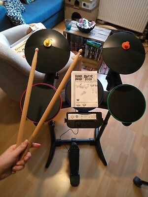 Guitar Hero Schlagzeug Wii; Drum Drums Drumkit E-Drumkit Remote Band Hero