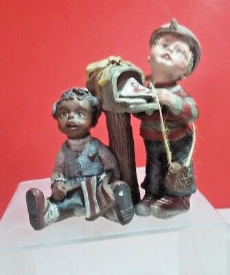 Sarah's Attic 1990 Forever In Our Hearts Figurine Collectible