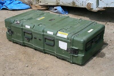 "45"" x 22"" x 11.5"" Pelican Hardigg Military Heavy Duty Hard Plastic Cases"