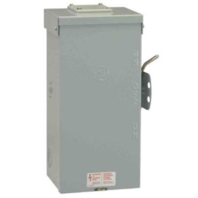 Emergency Power Transfer Switch Safety Manual Outdoor 240-Volt Non-Fused