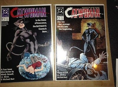 Catwoman #1- #4 DC comic lot 1989-NM