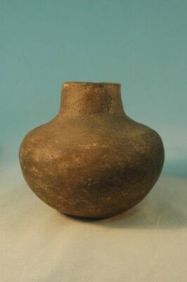 Solid Mississippian Short Neck Pottery Scott Co MISSOURI Pictured Who's Who #9