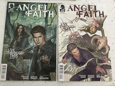 Aangel and Faith #1 & 2,  Buffy the Vampire Slayer, Near Mint, Dark Horse