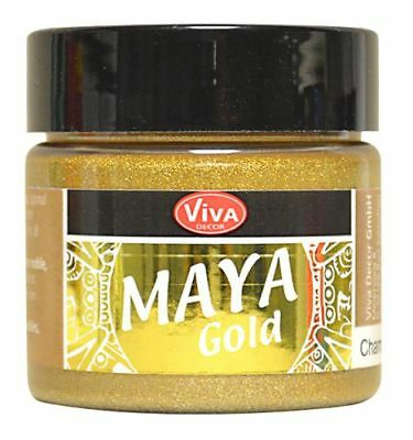Viva Decor Maya Gold ca. 45 ml Effektfarbe