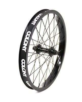 """Colony Pintour Wasp Female 18"""" Front BMX  Wheel - Black Front Wheel only"""