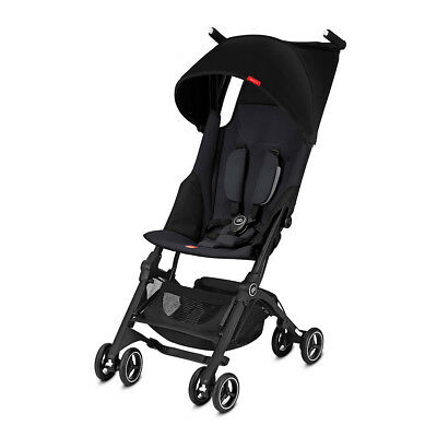 Goodbaby Pockit+ Reclinable Light Weight Stroller Satin Black