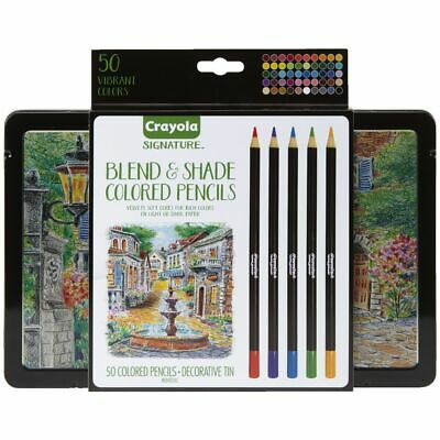 Crayola Signature Blend and Shade Coloured Pencils 50 Pack