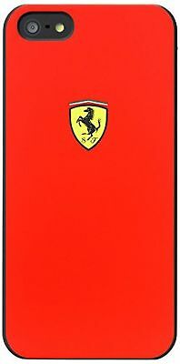 Iphone 5 Red Ferrari Case Brand New Fits Iphone 5,5S, And Se!