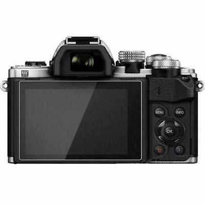 2PCS Optical Glass Screen Protector for Olympus EM10 E-M10 Mark II III EM5 LCD