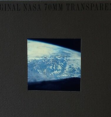 Project Gemini Gt-5  70Mm Original Nasa Transparency A View Of Earth From Space