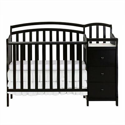 Dream on Me Casco 4 in 1 Mini Crib and Changer Combo