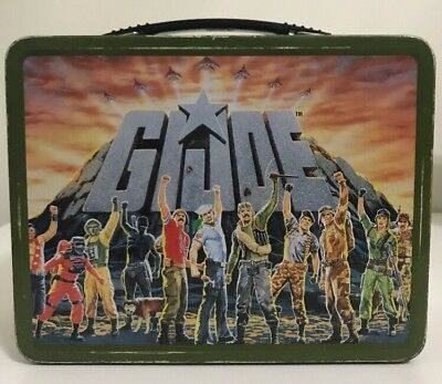 2002 Metal MECA Hasbro Limited Edition GI Joe Lunch Box Excellent Condition!