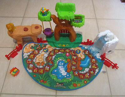 Fisher Price Little People A-Z Learning Zoo Playset Play Mat (J0134)  Incomplete