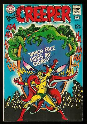 Beware The Creeper # 4-1969-Steve Ditko-Denny O'neil