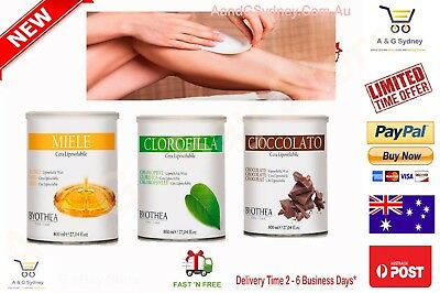 Hair Removal Cold Wax Chlorophyl Honey Chocolate Body Facial SAVE $23 SYDNEY