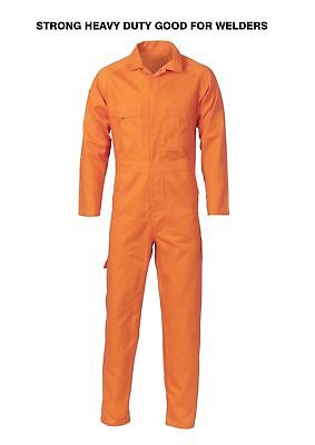 Coveralls Overalls cotton drill heavy duty coverall welders mechanics +FREEcards