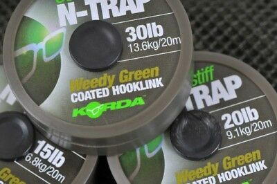 Korda N-Trap Semi-Stiff - All Sizes and Colours - Carp Fishing