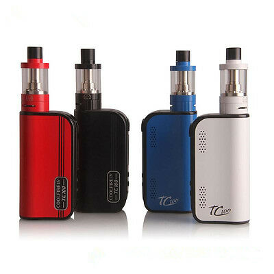 Authentic Cool Fire IV 4 100W TC boxx modd  starterr kit with Battery Fullkit