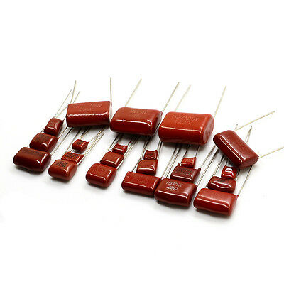 10pcs/Lot CBB Polypropylene film capacitor 10nf 22nF 47nF 100nF 220nF 1uF etc.