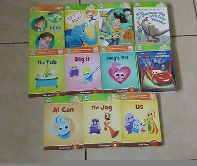 Lot of 11 Leap Frog Leap Tag Reader Junior Books Only