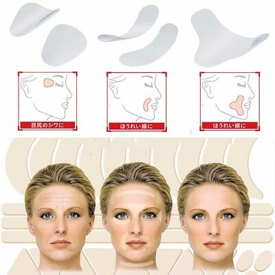 Face Facial Line Wrinkle Skin Lift Up Tape Frown Smile Lines Forehead yj7d