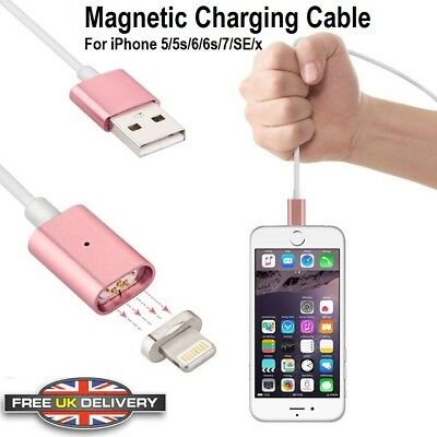 2019 Magnetic Fast Charging Cable Sync Lightning Charger for iPhone X XS 6 7 8