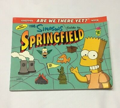 The Simpsons Guide To Springfield 1998 Paperback