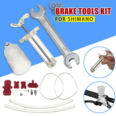 Bike Bicycle Set Hydraulic Disc Brake Bleed Oil Tools Kit Fit For SHIMANO
