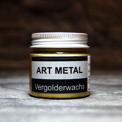 Art Metal Vergolderwachs Gold 50 ml Vergolden Versilbern