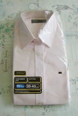 New In Packet True Vintage 70's St Michael Pink Polyester Shirt 15.5 Collar S/m