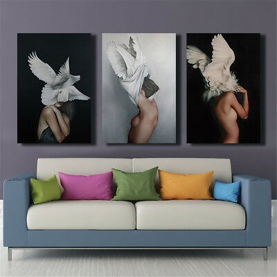 Angel Women Sexy Girl Canvas Painting Wall Art Print Picture Unframed Home Decor