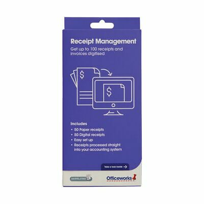 Receipt Management 50 Physical and 50 Digital Receipts