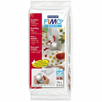 Staedtler FIMO Air Basic Modelling Clay 1kg White