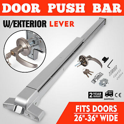 Door Push Bar With Handle Heavy Duty Panic Exit Device Hardware Latches Dogying