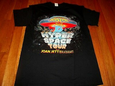 NEW/NO TAGS BOSTON/ JOAN JETT  DOUBLE-SIDED 2017 CONCERT  T-Shirt   size XL