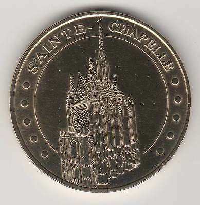 -- 2007 Coin Token Jeton Monnaie De Paris - 75 001 Sainte-Chapelle