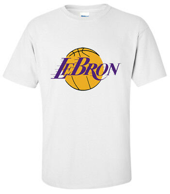 Shirt Lebron James Lakers Basketball Mash Up T-Shirt Small,medium,large,xl