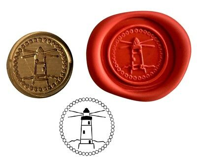 Lighthouse Coastal Wax Stamp Seal Starter Kit or Buy Coin Only XWS039B/XWSC001
