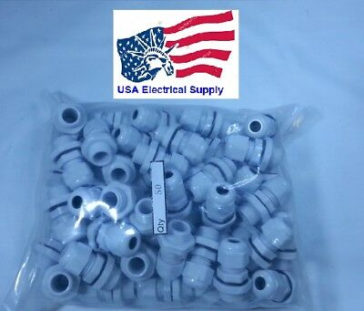 """gasket NEW Strain Relief Cable Gland w//nut lot of 5 3//8 /"""" NPT 90 Degree"""