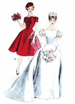 #99 Princess Wedding Gown Pattern For All Size Dolls