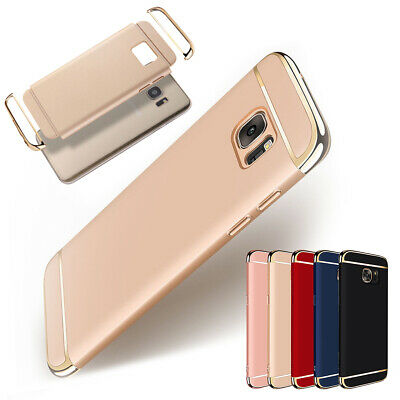 For Samsung Galaxy Note 5 Luxury Plating Shockproof Hybrid Slim Back Case Cover
