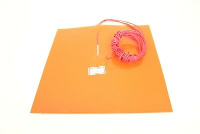 Silicone Heater Heating Pad with Thermistor for Heated Bed/Plate for 3D Printer