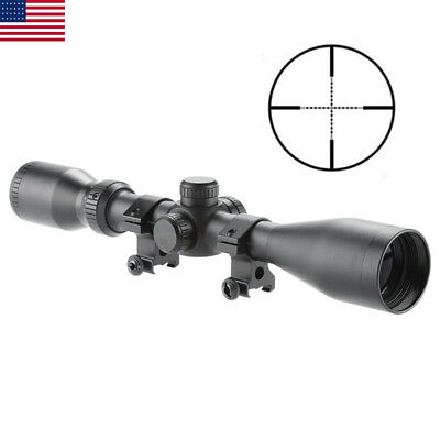 Tactical Rifle Scope 2.5-10X44 Mil-dot Optics Optical for Hunting Waterproof New