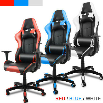 Red Racing Gaming Chair High Back Computer Recliner Office Chair Rc1