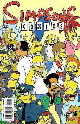 Simpsons Comics 114 Bongo 2005 Ring-A-Ding Springfield Rogers Ho Rote